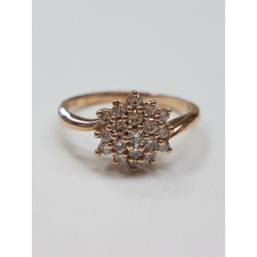 Rose virágos gyűrű
