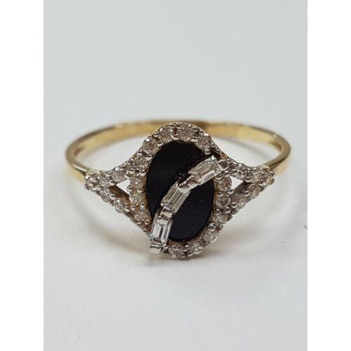 Ónix gyűrű