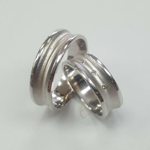 Fehér arany, karikagyűrű