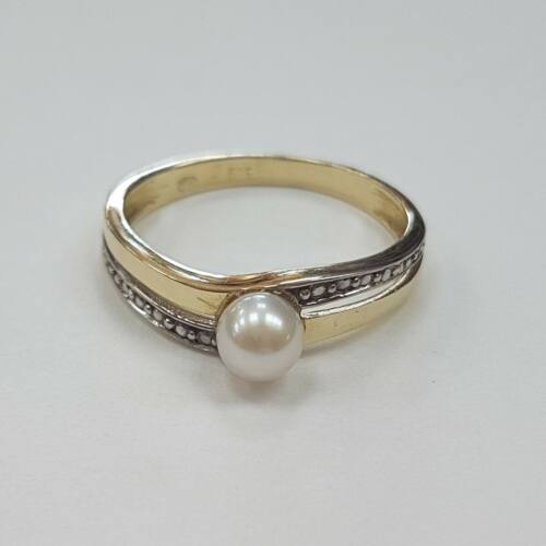 Gyöngyös arany gyűrű