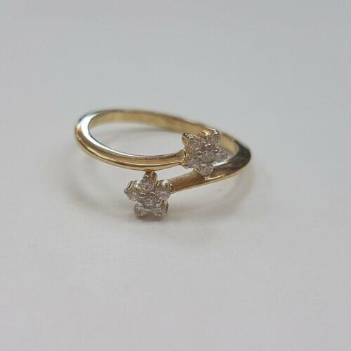Virágos arany gyűrű
