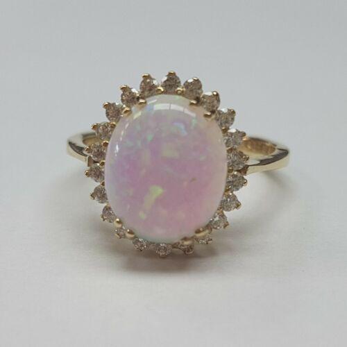 Arany, opál köves gyűrű