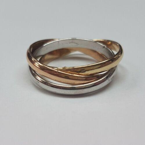 Arany összerakhatós gyűrű