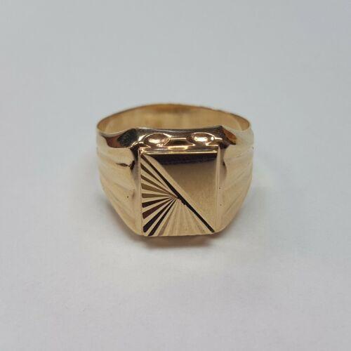 Arany pecsét gyűrű