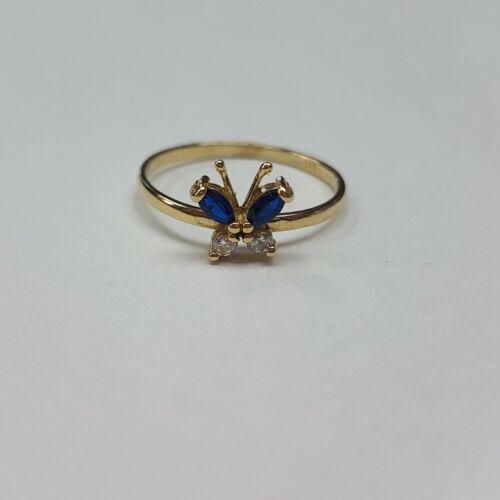 Arany pillangós gyűrű