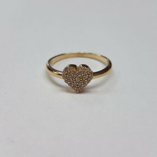 Arany szives gyűrű