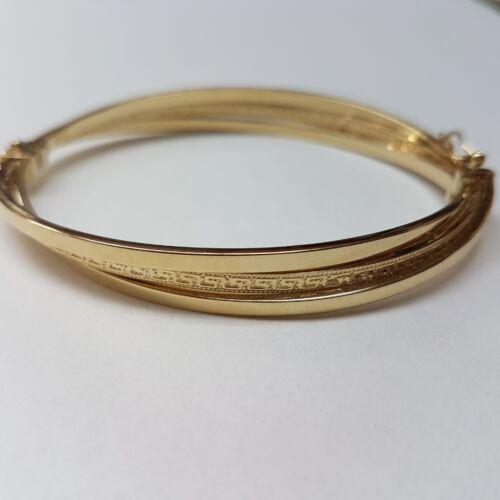 Arany karperec, görög mintás