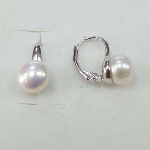 Gyöngyös ezüst fülbevaló