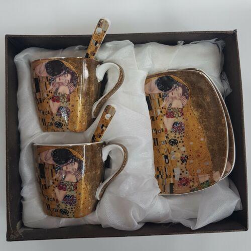 Klimt kétszemélyes kávéskészlet