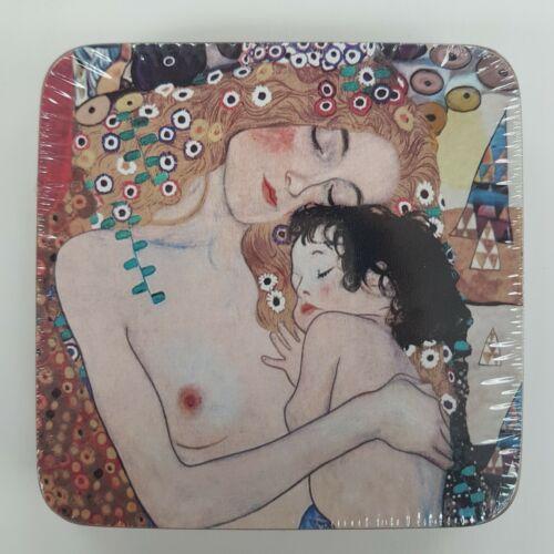 Klimt 6 darabos poháralátét